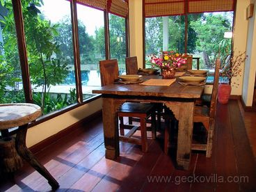 Gecko Villa, northeast Thailand fully catered pool villa