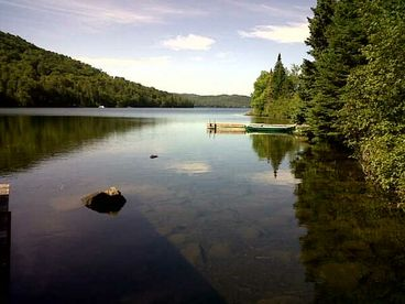 Ivry, Lake Manitou, Laurentians, ski chalet 10 minutes from Mont Blanc, 1 hr MTL