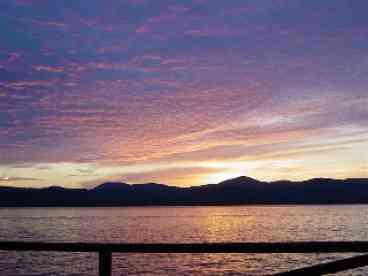 Dawn ODay on Kattskill Bay, Lake George