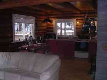 Tulameen - OTTER LAKE - Family Log Cabin