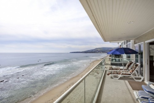 Ocean Front Laguna Beach House