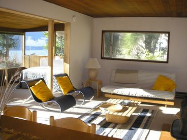 Waterfront cottage on Guemes Island