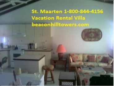 Beacon Hill Towers-With access to BOTH Simpson Bay and Burgeaux Bay beaches