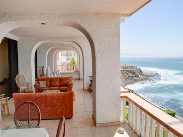 Breath Taking Oceanfront Penthouse Suite in Rosarito Beach