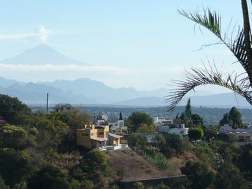 The Best View to the Volcanos in Cuernavaca