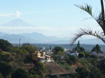 The Best View to the Volcanos in Cuernavaca