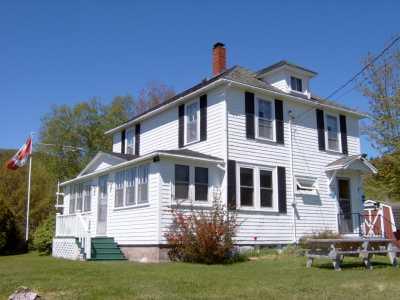 Cape Breton Matheson Farmhouse on 100 acres w/ ocean views