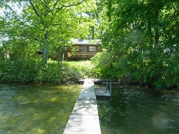 Charming Lakeside Cottage on Twin Lakes, 121-185$/n