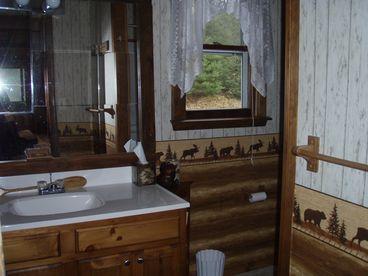 Blue Moose Cabin on Lake Abanakee