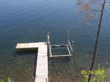 LAKE BOMOSEEN  LAKE HOUSE FALL FOLIAGE