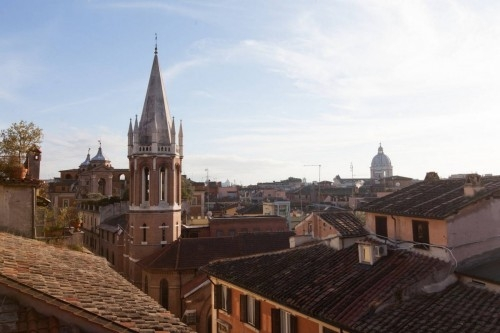 View Gorgeous penthouse Spanish Steps