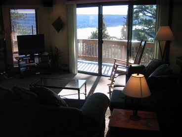 Big Bear North Shore Lake View Octagon Home