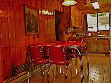 Knotty Pine Ocean View Cabin- pet friendly-Off season weekdays- 4th night free