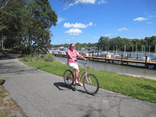 Palm Coast Canopy Walk Waterfront - SUMMER rates- Bikes