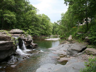 Spectacular Waterfall Vacation Rental Home Woodstock NY
