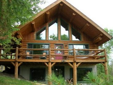 Everett Ridge Log Home - YEAR ROUND