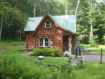 Ricketts Glen Cabin