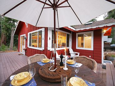 Elegant, Charming Tahoe Cabin-3 min to Homewood Ski, Luxury Linens, Wifi, More