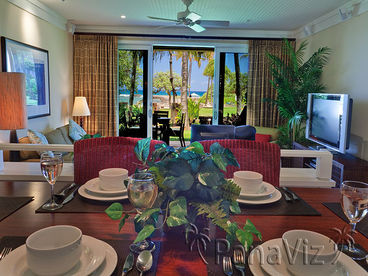 Beach Level & 2nd Floor 3 BR Ocean View Villas