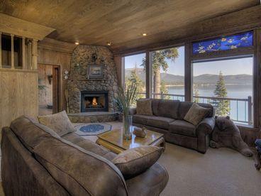 Panoramic Lake View Tahoe Rental Home with Hot Tub