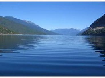 Slocan River, Lake and Vallhala Views