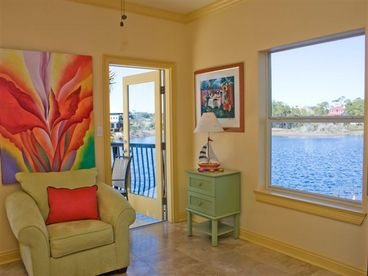 Lilly Pad - Gorgeous 3BR Lake Front House with Gulf Views