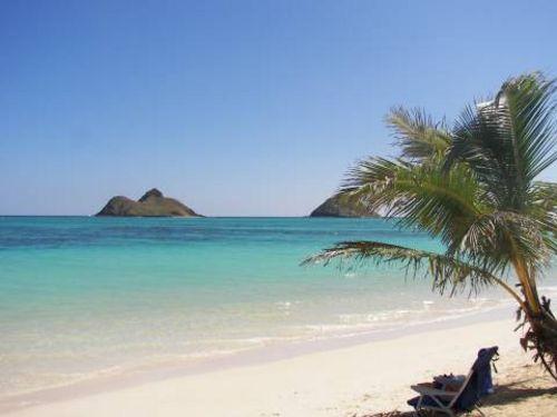 View On Beautiful Kailua Beachfrom