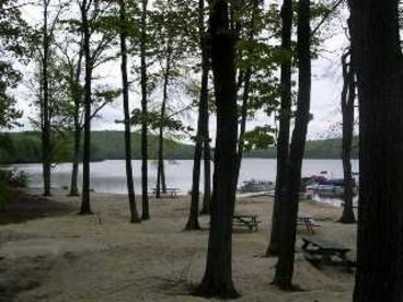 Summer weeks open. Lake pass included. Located by Big Boulder Lake and beach