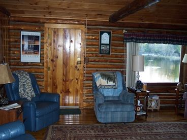 Log Cabin - Manistee River
