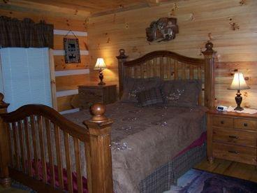 Wil-deer-ness Cabin