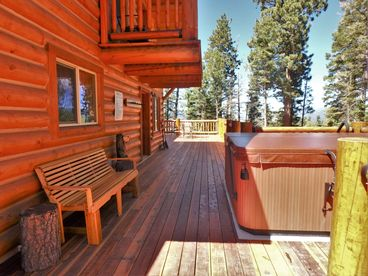 THE O'DELL CABIN--SKI-IN, SKI-OUT, 9 SECONDS TO SKI RUN