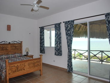 Beach Front Brand New Villa with Heated Pool & Internet