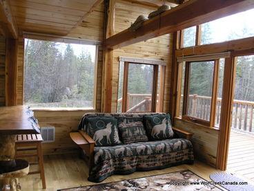 Wolf Creek Cabin in East Kootenays