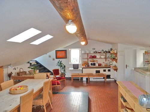 Amazing seaside apartment in Camogli, with roof teracce