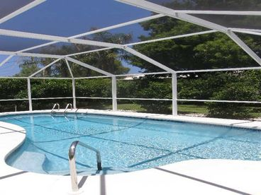 Naples Park Single Family Home with Heated Pool
