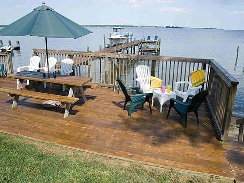 Potomac River, Maryland Waterfront Home with Beach and Dock