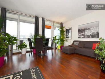 Beautiful Flat  near Paris ,  60M2,75M2 Terrace
