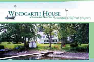 View Windgarth House In Ovid New York