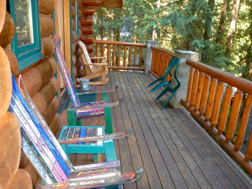 Mt. Baker Lodging Cabin #47 - REAL LOG CABIN, HOT TUB, FIREPLACE, BBQ, SLEEPS-10