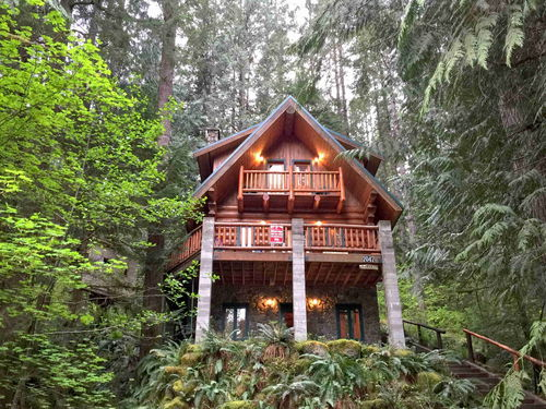 View Mt Baker Lodging Cabin 47  REAL