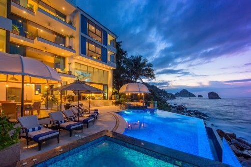 View CASA DEMAE II Oceanfront Luxury