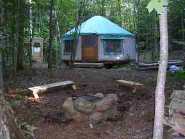 Falls Brook Yurt Rentals