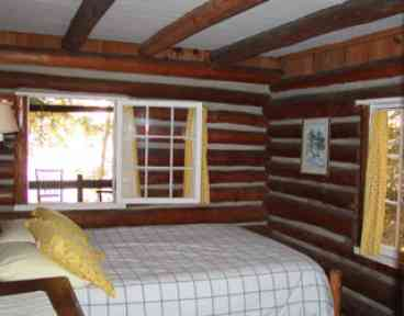 1936 Lakefront Log Cabin