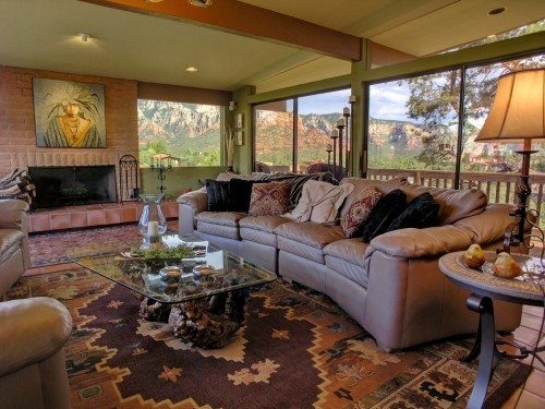 Up-high Sedona Home with Outstanding Red Rock Views and Hot Tub.
