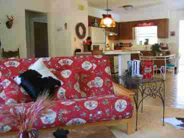 Ocala Nat Forest  - Lakefront Lodge Vacation Rental