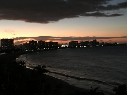 Private Puerto Rico Oceanfront Balcony- Breathtaking views on Isla Verde Beach
