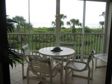 Direct Gulf-Front Condo  -  on beautiful Sanibel Island