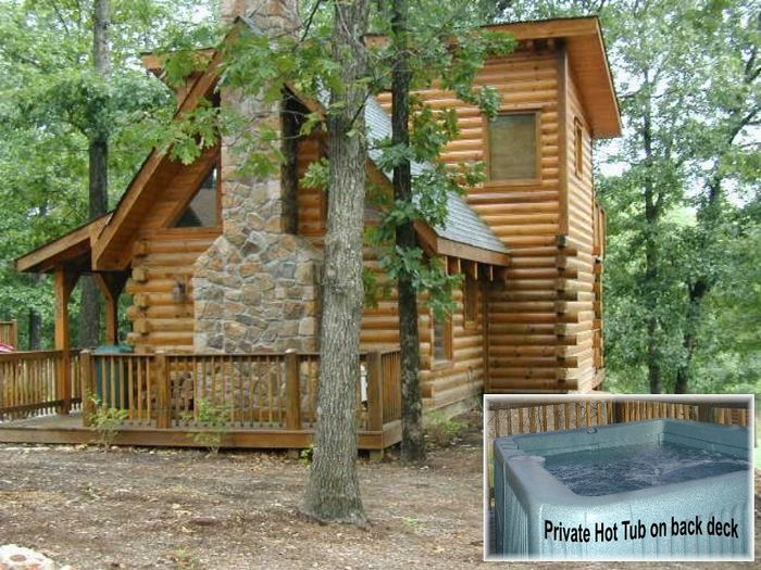 View This Log Cabin  The Lil Treehouse