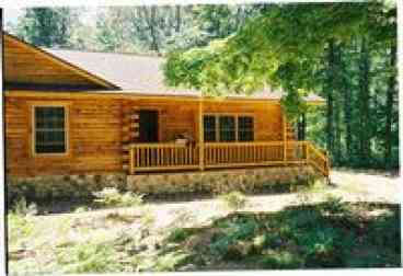 View Luxury Log Cabin in 20 acres