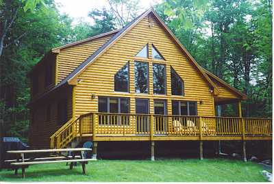 View Maine Lodge Rental Hideaway